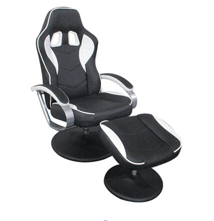 Workwell Racing Game Office Furniture Chairs With Back Support , Bucket Seat