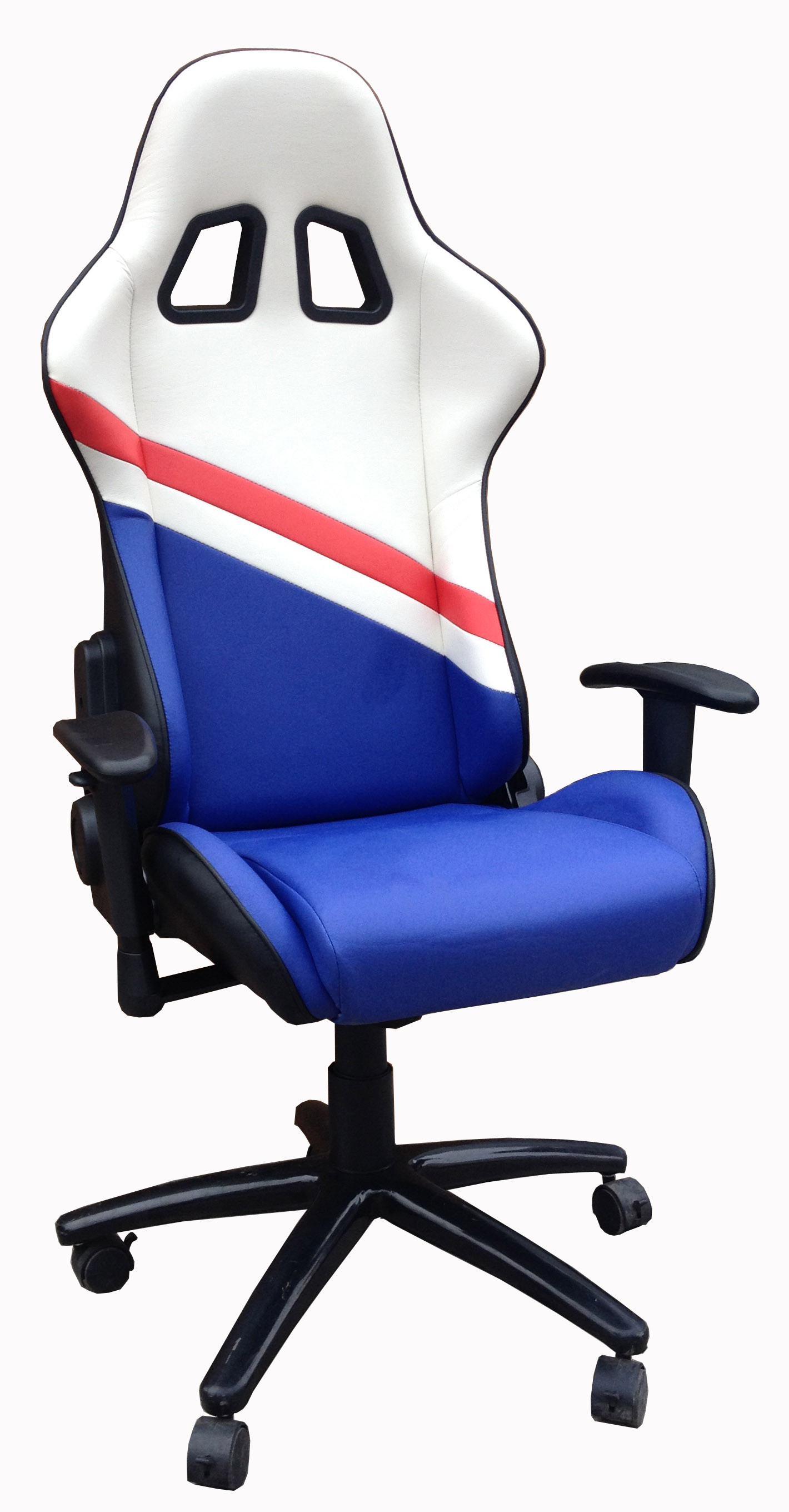 Durable PU Leather Adjustable Office Chair For Work , Study , Rest And Sleep